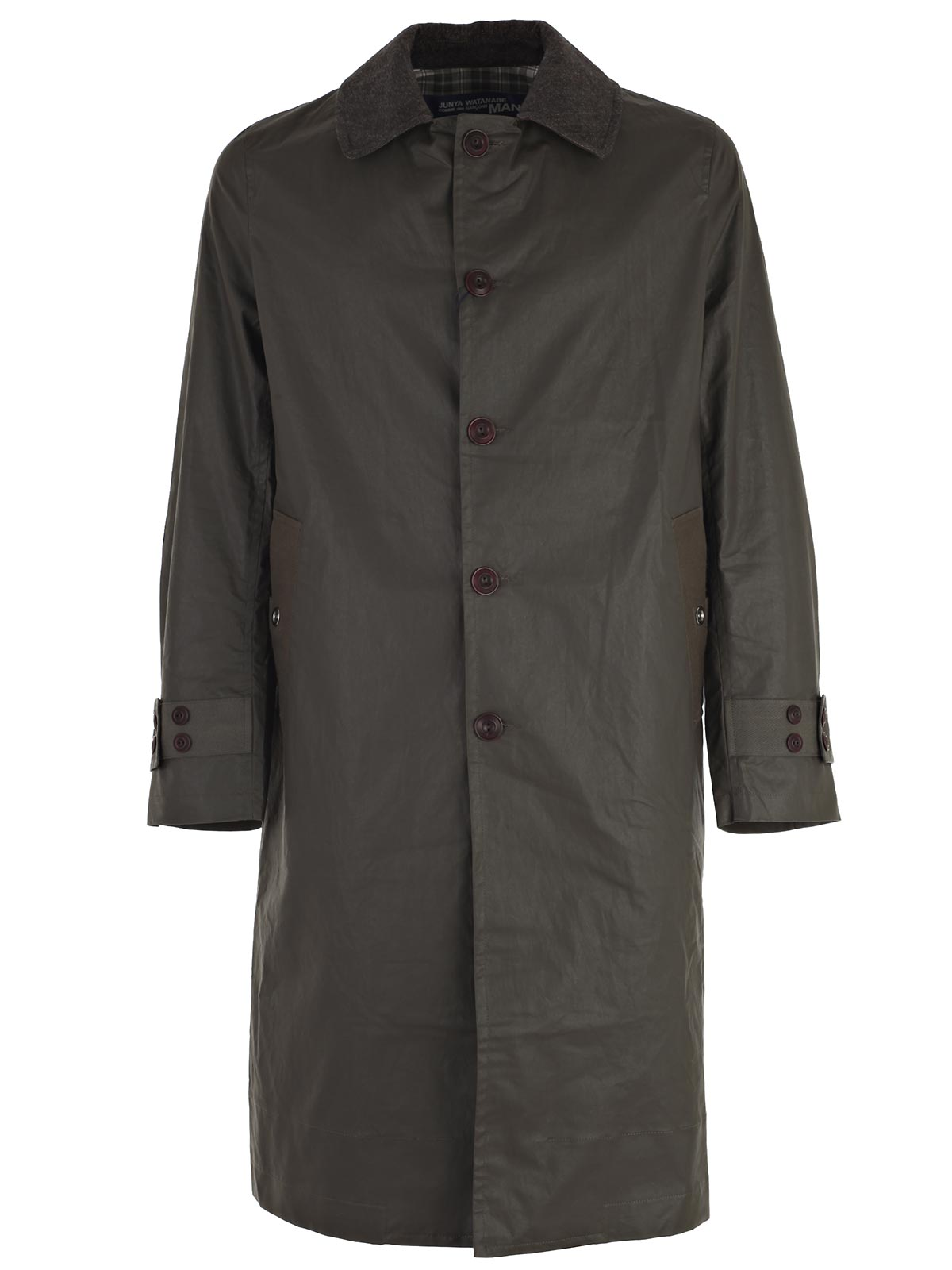 Picture of JUNYA WATANABE COMME DES GARCONS COAT SOPRABITO EFFETTO BARBOUR