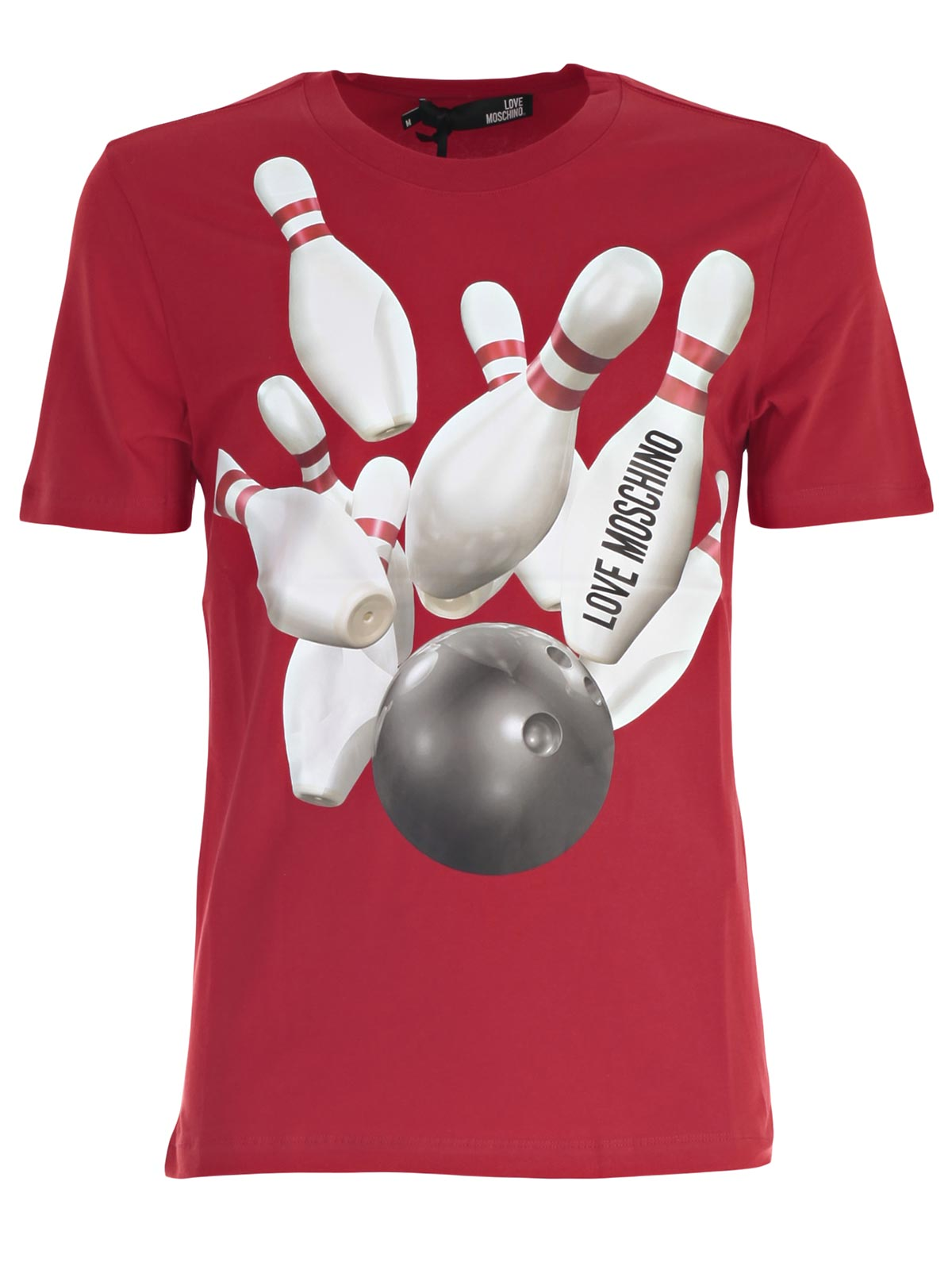 Picture of LOVE MOSCHINO T-SHIRT T-SHIRT M/M BOWLING