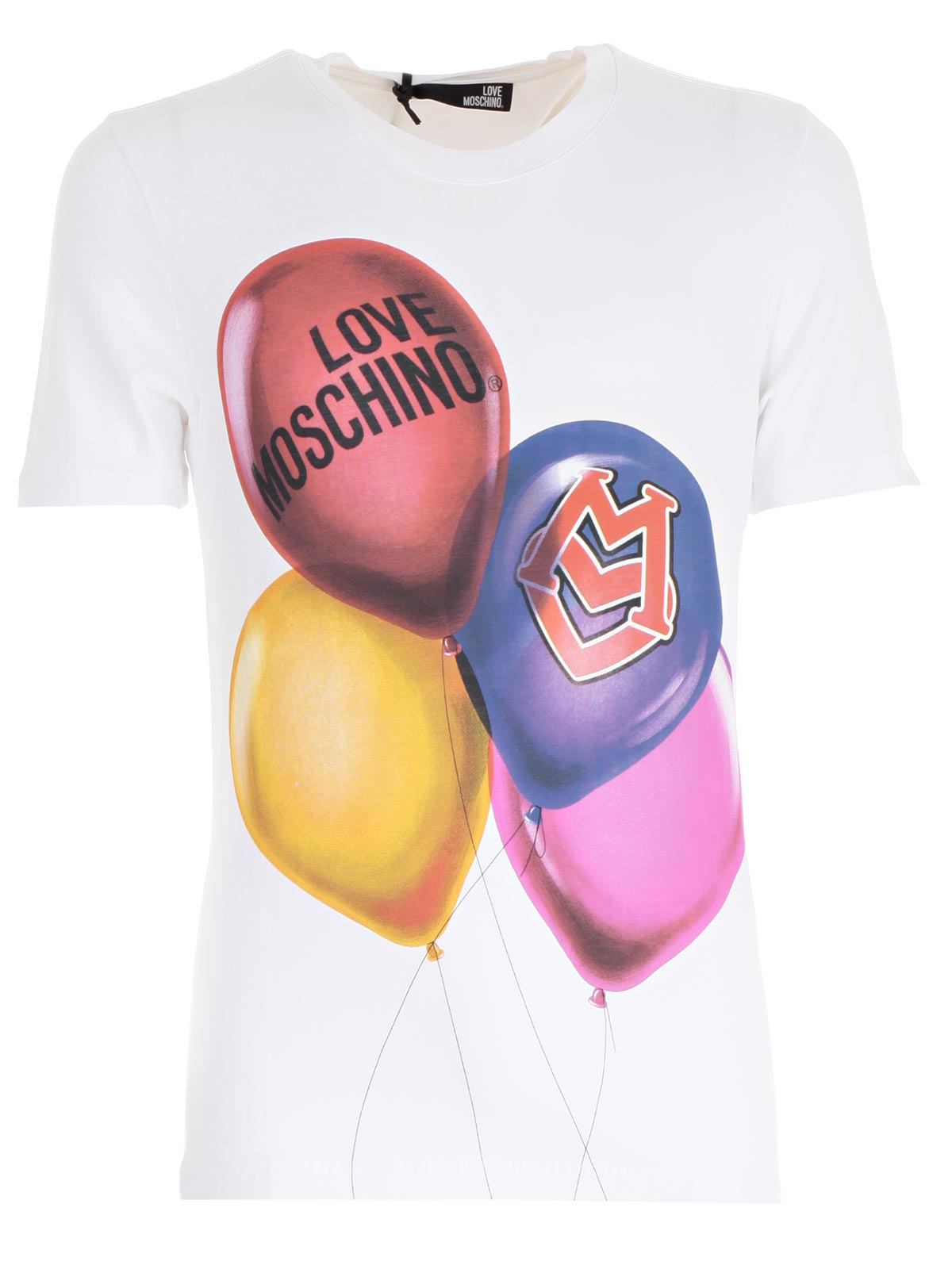 Picture of LOVE MOSCHINO T-SHIRT T-SHIRT M/M PALLONCINI