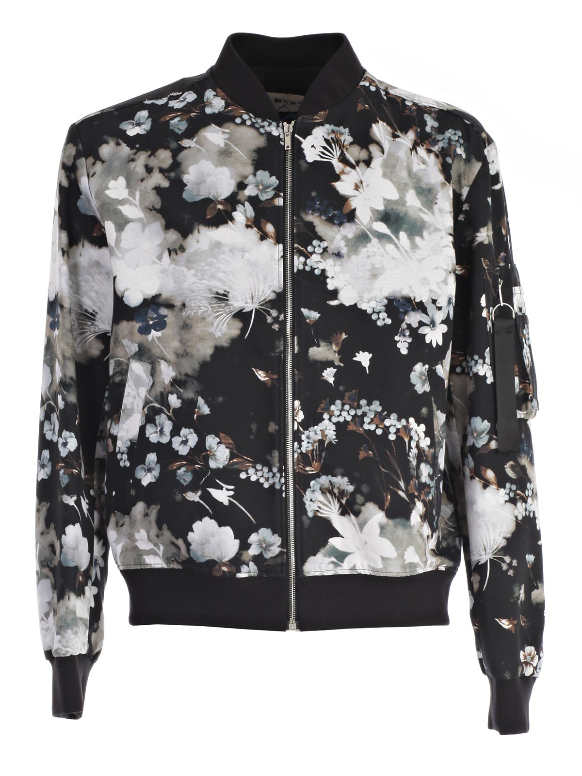 Picture of MSGM JACKET BOMBER STAMPA FIORI