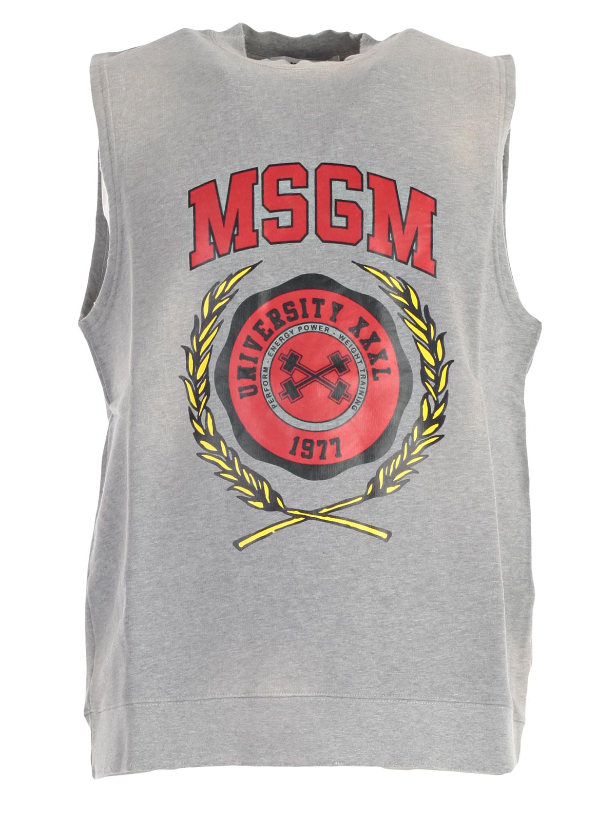Picture of MSGM SweatShirt FELPA S/M LOGO COLLEGE