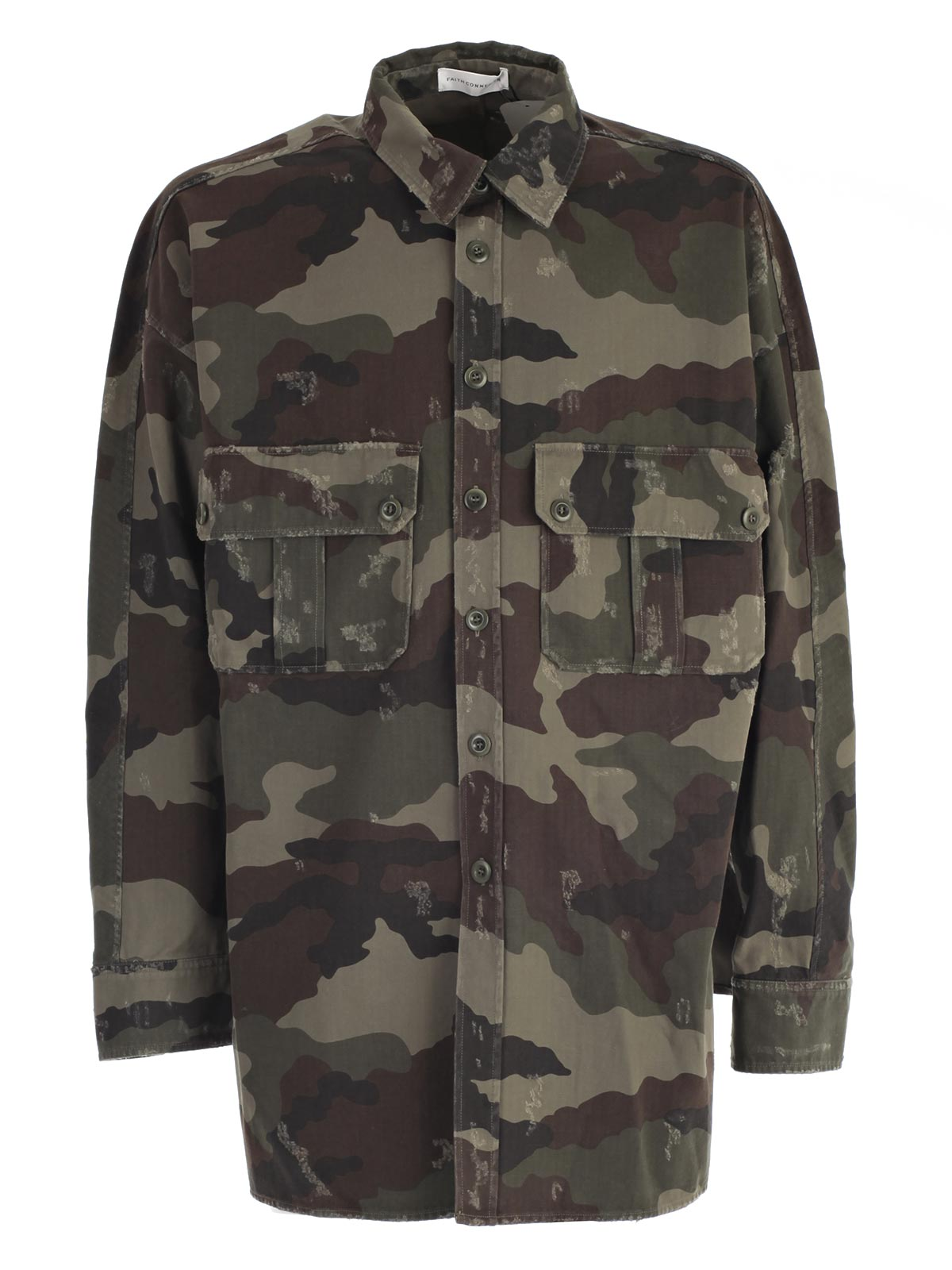 Picture of FAITH CONNEXION CAMO SHIRT