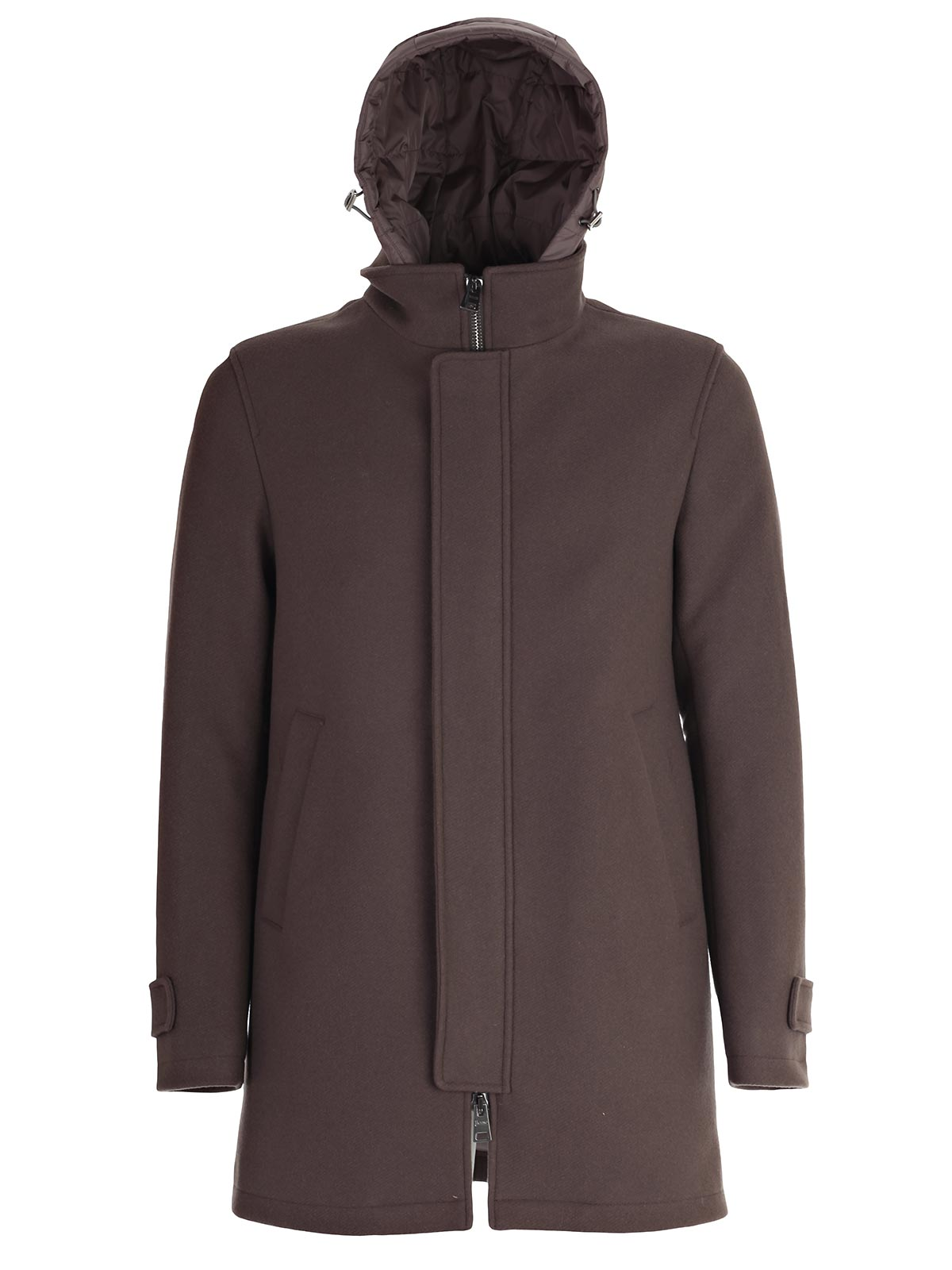 Picture of HERNO Padded Jacket CAPPOTTO C/CAPPUCCIO STACCABILE