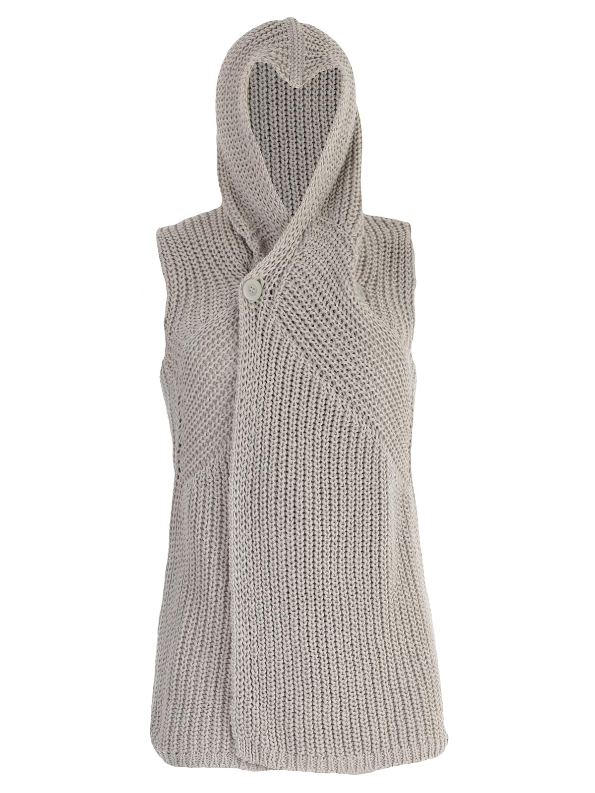 Picture of RICK OWENS VEST CARDIGAN SMANICATO