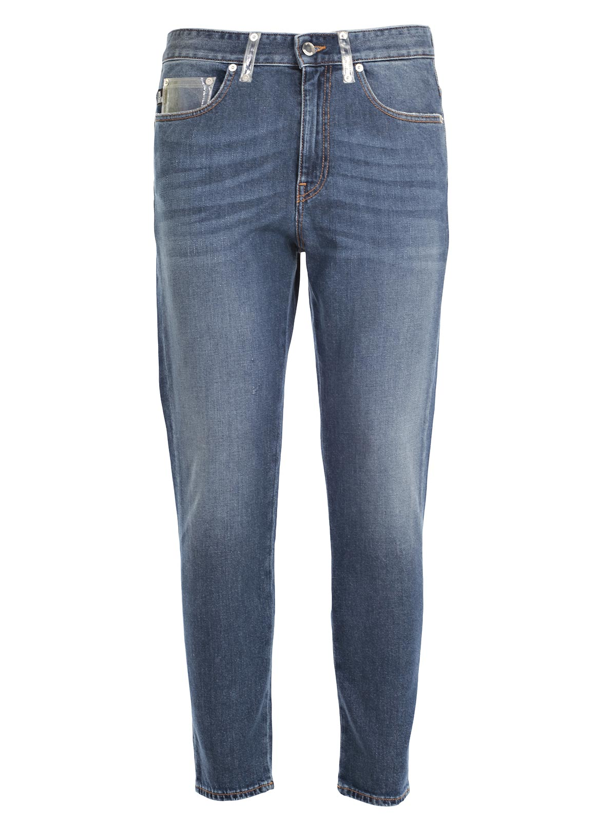 Picture of LOVE MOSCHINO JEANS JEANS TASCHE IN PVC TRASPARENTE