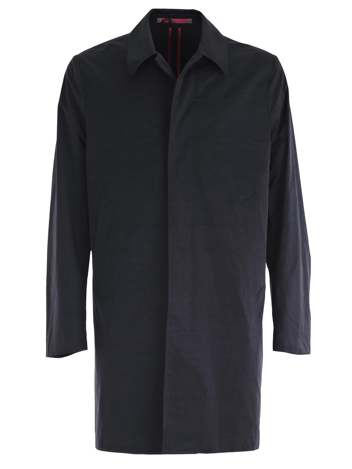 Picture of PS PAUL SMITH COAT IMPERMEABILE MONOPETTO