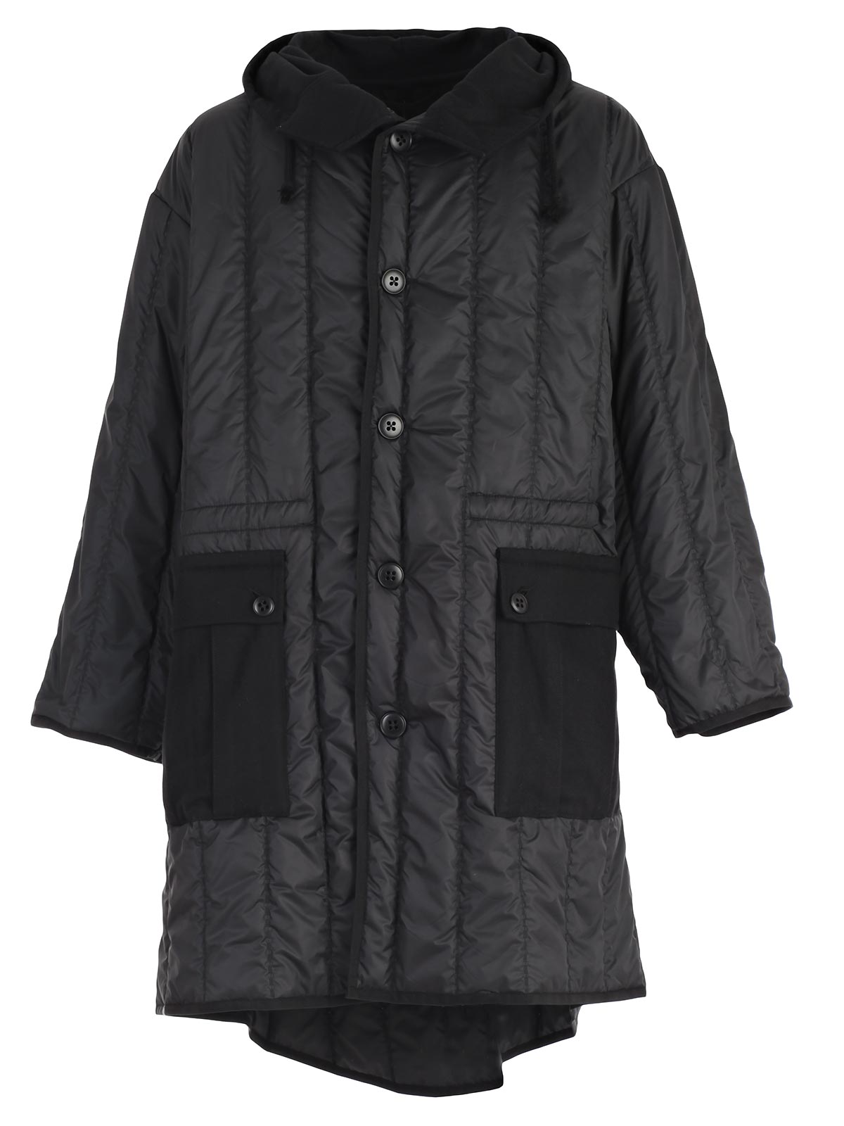 Picture of ANN DEMEULEMESTER GRISE Padded Jacket