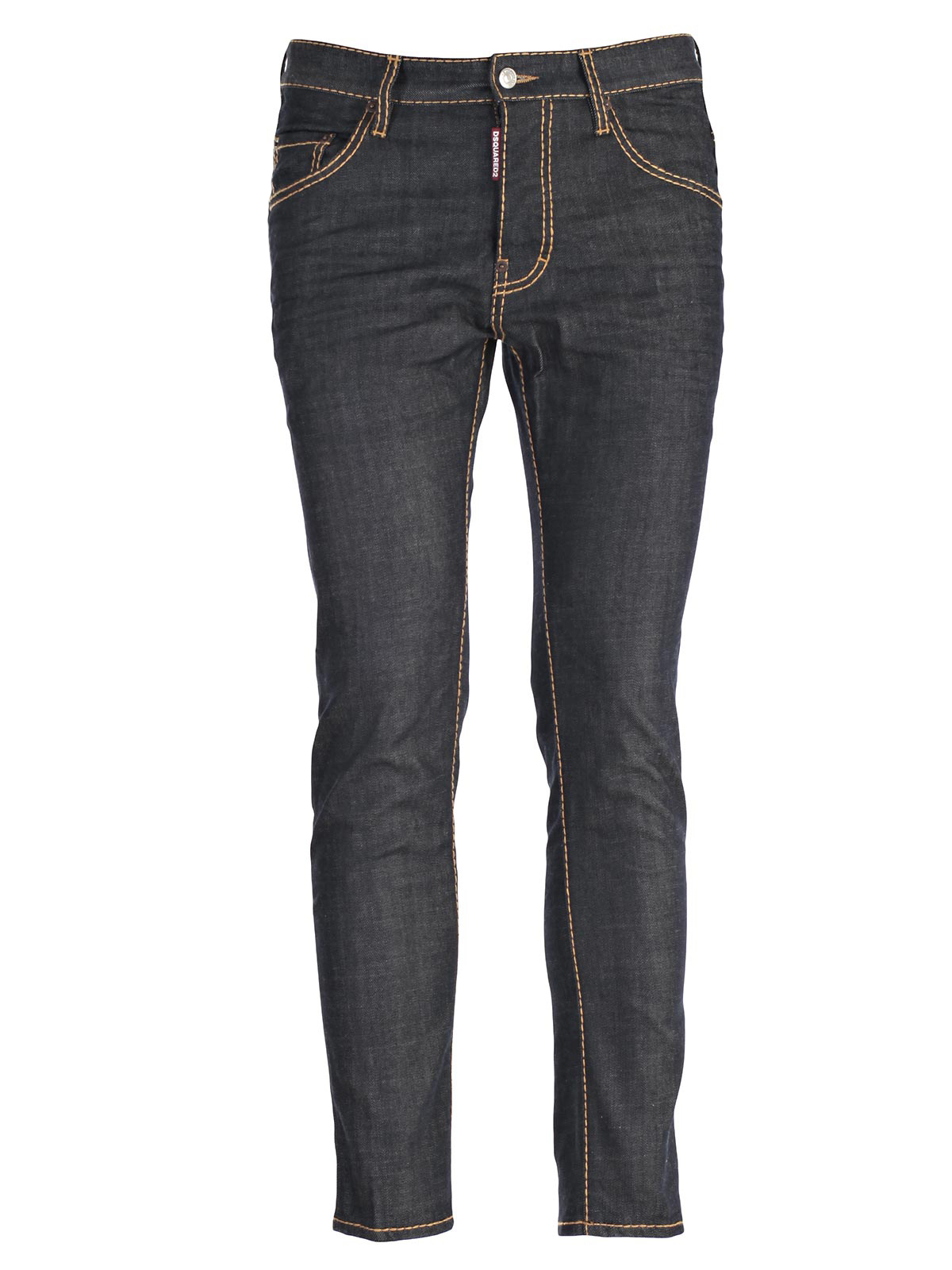 Picture of DSQUARED2 JEANS JEANS SKATER IMPUNTURE GROSSE