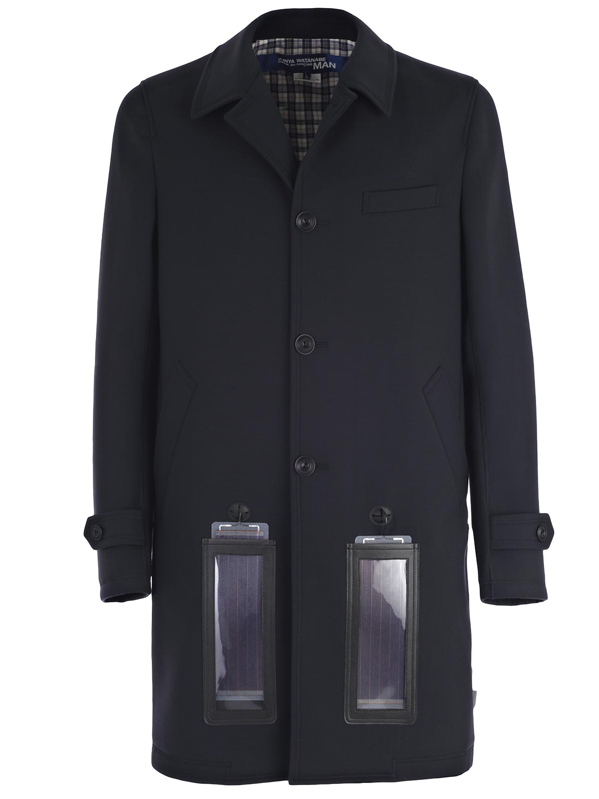 Picture of JUNYA WATANABE COMME DES GARCONS COAT SOPRABITO CON PANNELLI