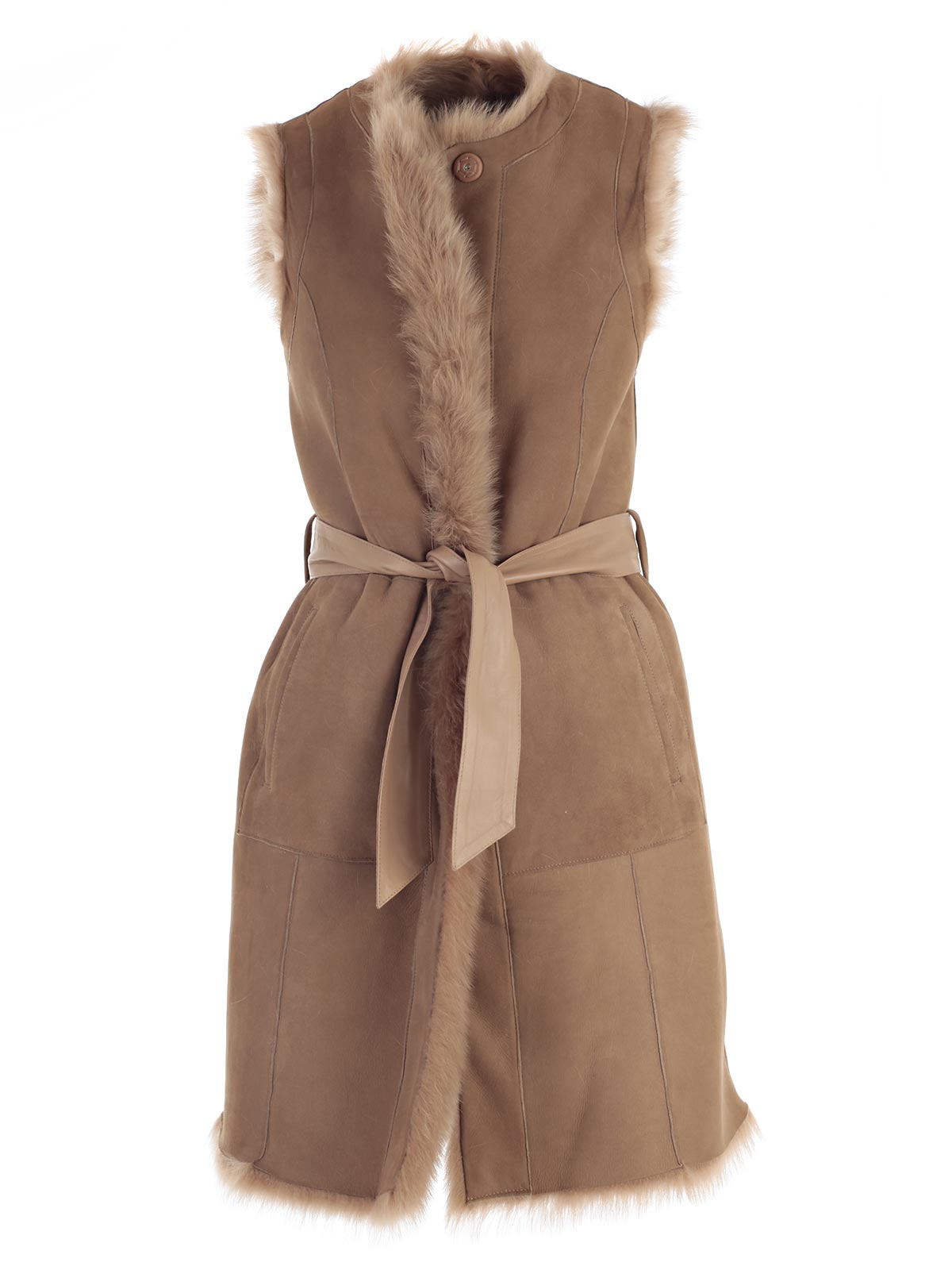 Picture of DROME FUR GILET LUNGO