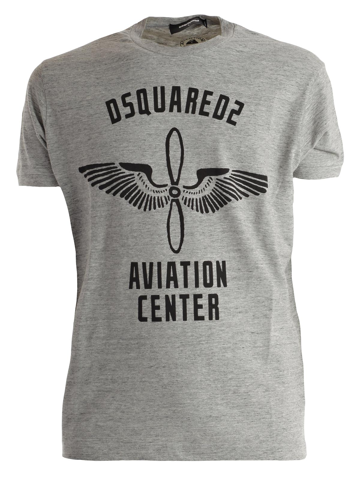 Picture of DSQUARED2 T-SHIRT T-SHIRT DSQUARED AVIATOR CENTER