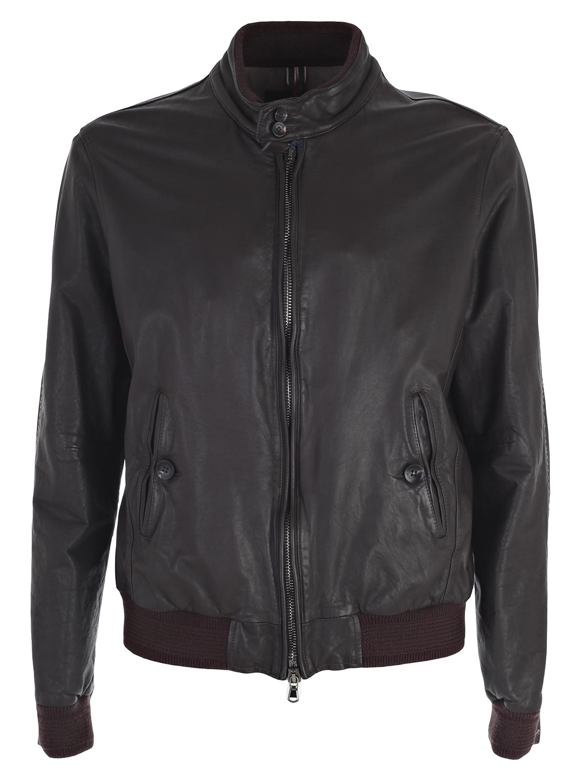 Picture of JACOB COHEN JACKET BOMBER NATURAL