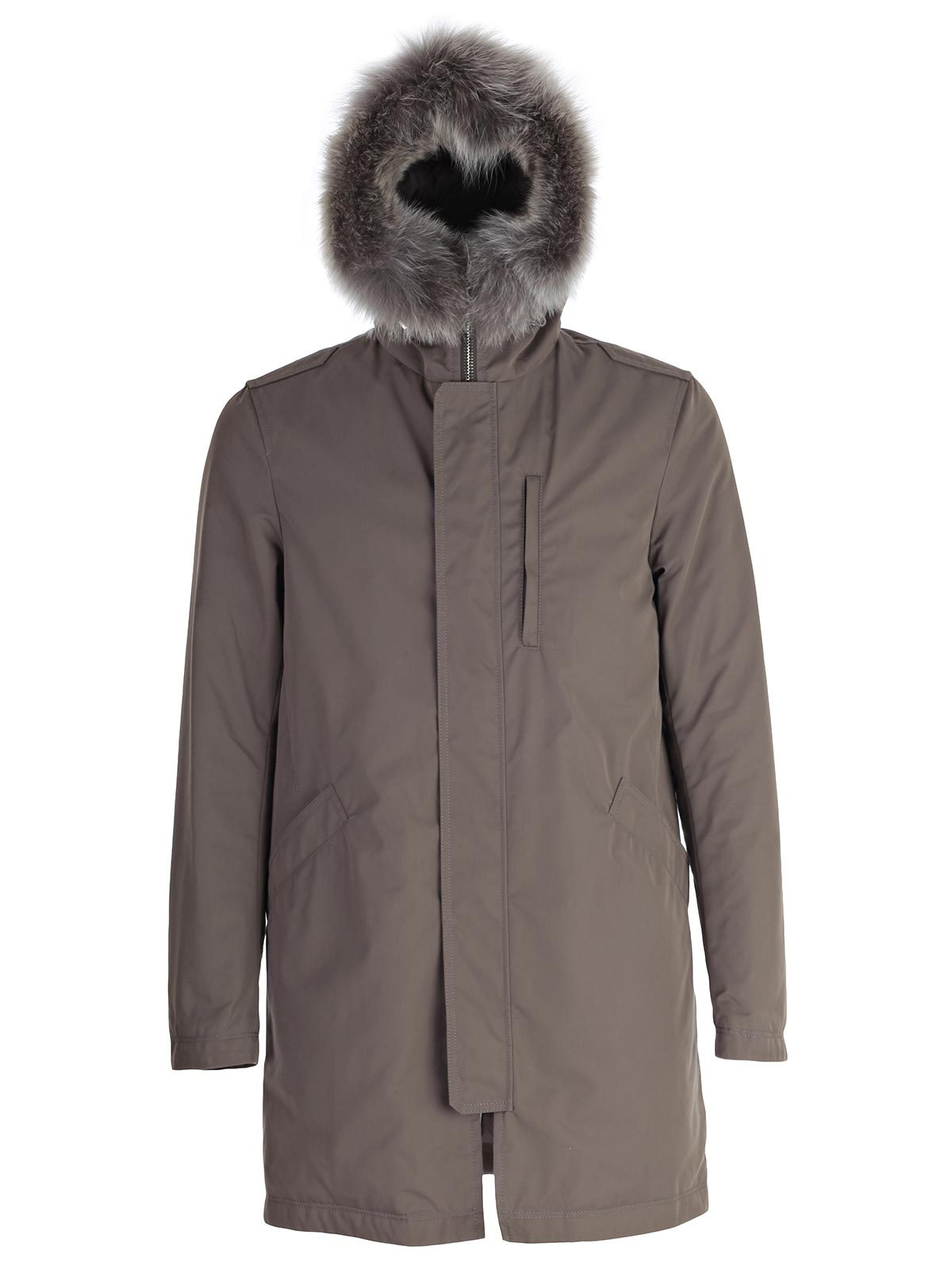 Picture of HERNO Trench PARKA PELO STACCABILE