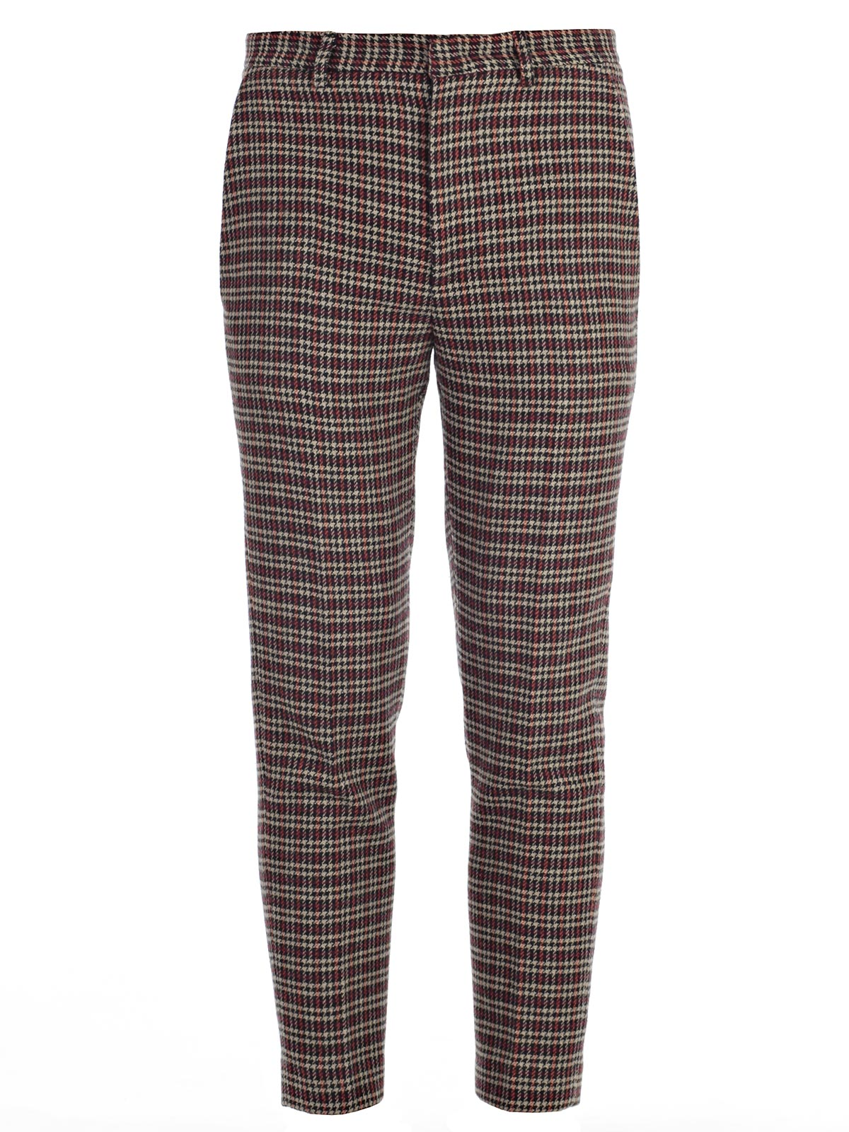 Picture of MSGM TROUSERS PANTALONE MADRAS