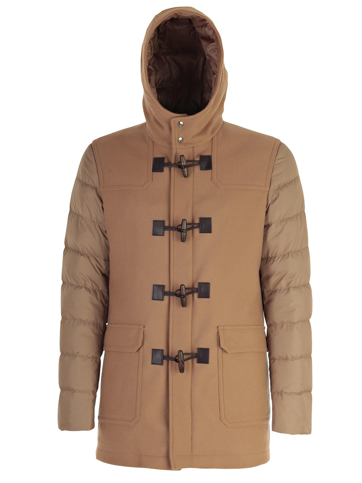 Picture of HERNO Padded Jacket MONTGOMERY CON MANICA PIUMINO