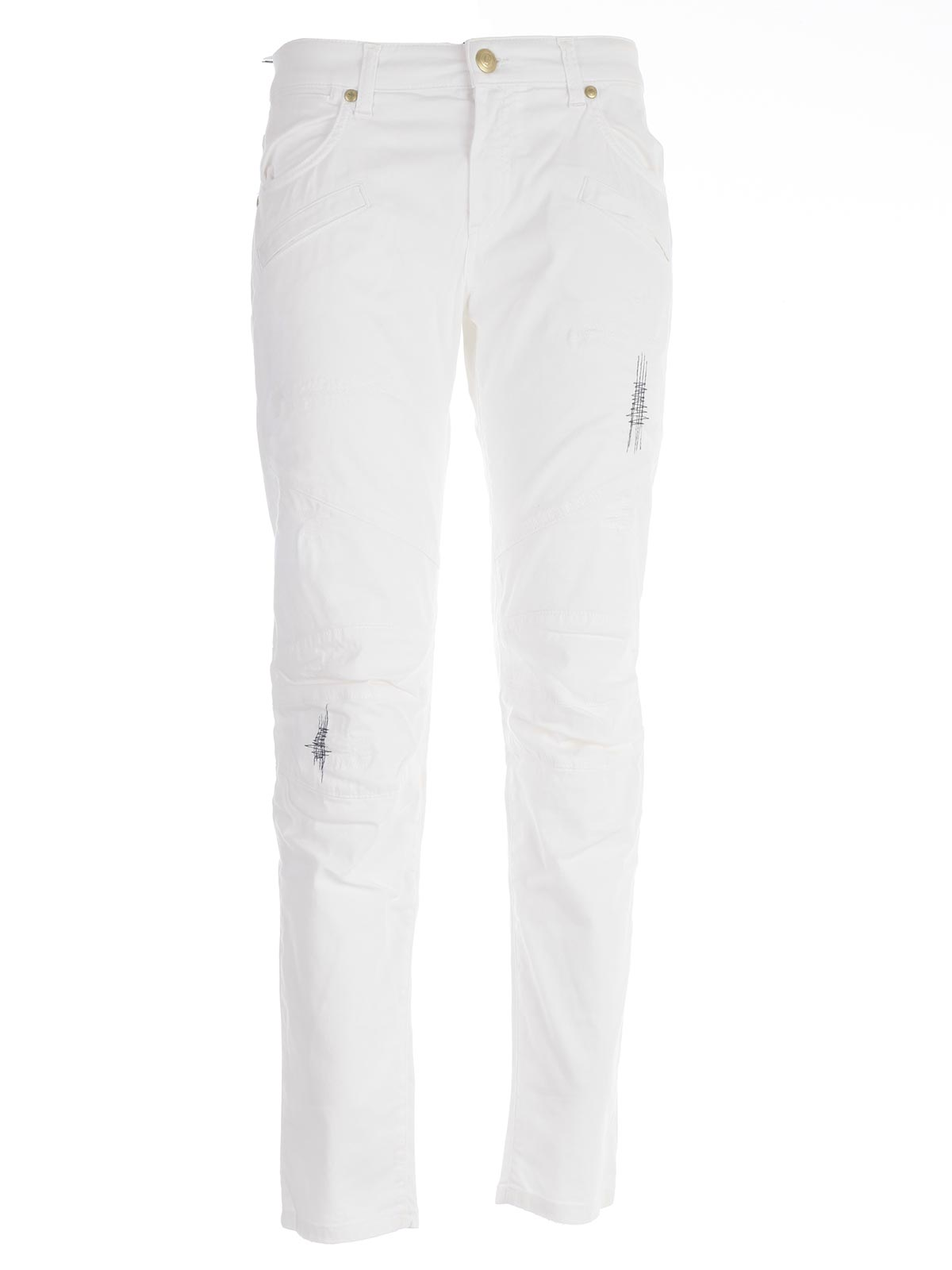 """Picture of PIERRE BALMAIN JEANS JEANS """"MOTOCICLISTA"""" CUCITURE IN CONTRASTO"""